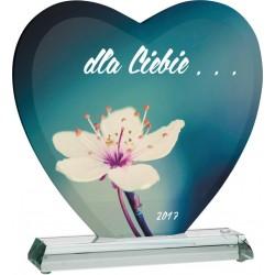 Trofeum szklane z etui -...