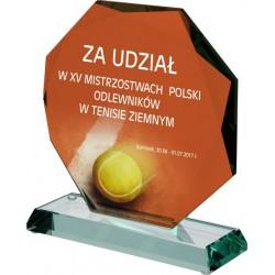 Statuetka szklana z etui - B20