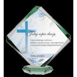 Trofeum szklane z etui - B22 C
